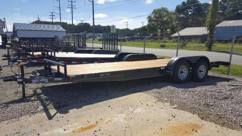 2019 Texas Bragg Trailers 18+2 HCH Car Trailer w/ Slide in Ramps