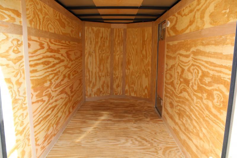 2020 Continental Cargo 5X8 w/ Double Rear Doors