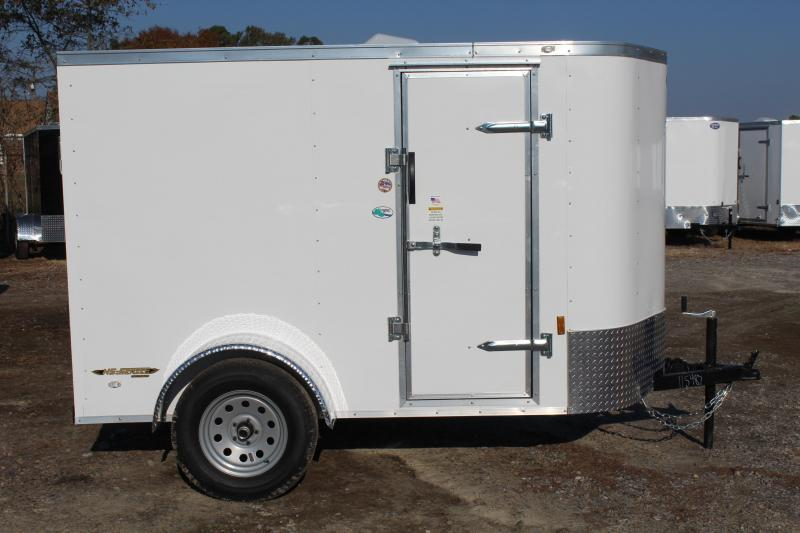 2020 Continental Cargo 5X8 w/ Double Rear Doors in Grandy, NC