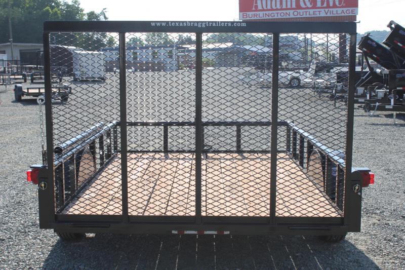 2017 Texas Bragg 6x10P w/ Gate