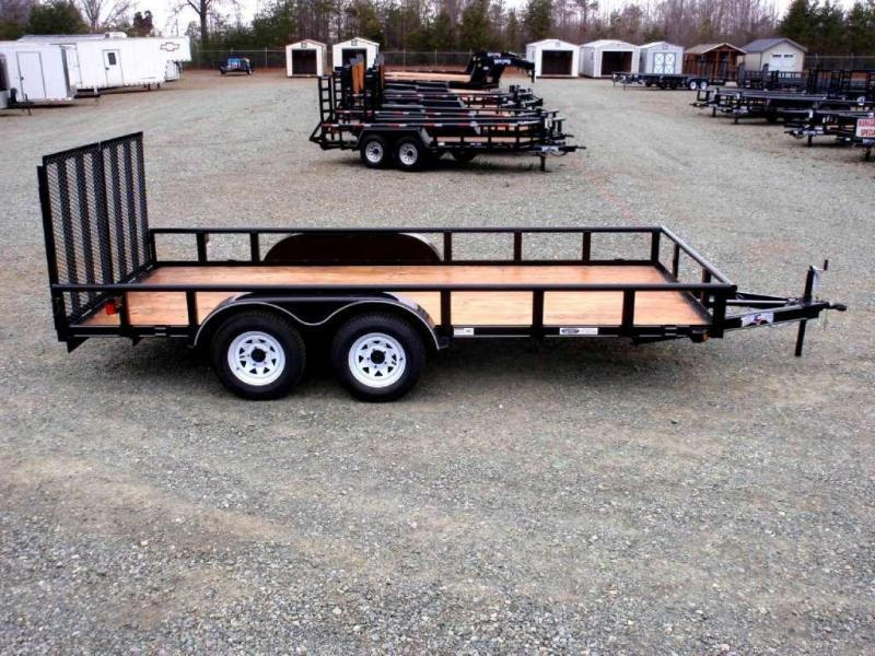 2018 Texas Bragg 16P Utility Trailer w/ Split Gate