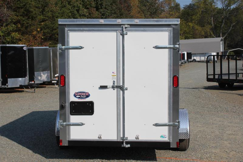 2018 Continental Cargo 6x12 Special w/ Double Rear Door