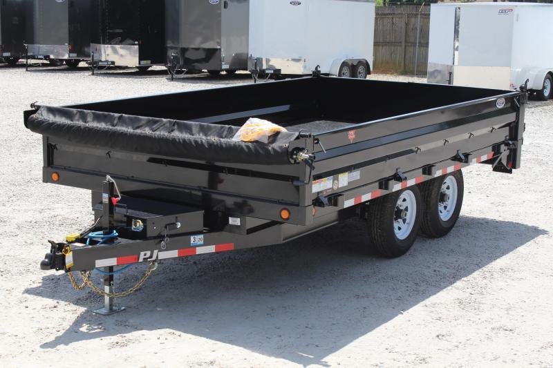2020 PJ Trailers 7x14 D8 14K Dump in Ashburn, VA
