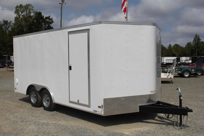 2020 Haulmark Passport 8.5x16  w/ Ramp Door