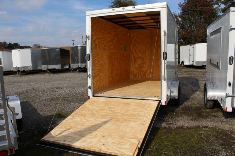 2019 Continental Cargo 7X12  w/ Ramp Door