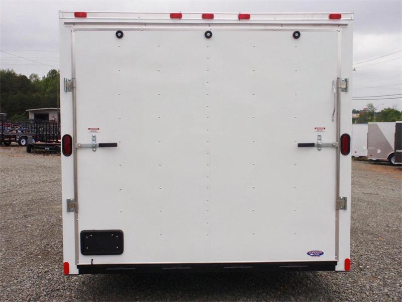 2018 Continental Cargo 8.5X24 10K w/ Ramp Door