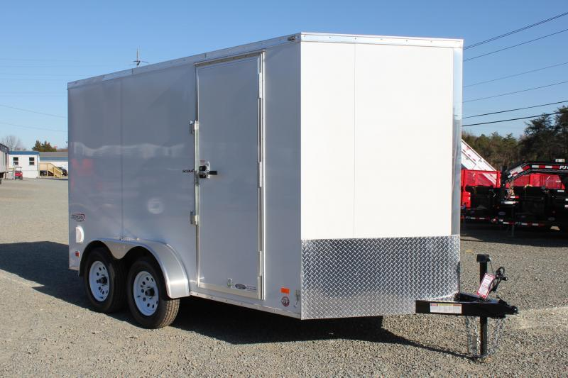 2020 Bravo Scout 7X12 w/ Ramp Door in Morrisville, NC