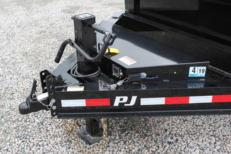 2019 PJ Trailers 7X14 DL 14K  Low Pro Dump