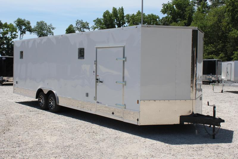 2019 Continental Cargo 8.5x28 10K LOADED Car Trailer