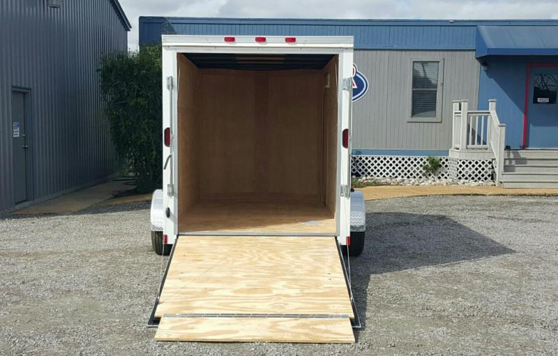 2019 Continental Cargo 6X12 7K w/ Ramp Door