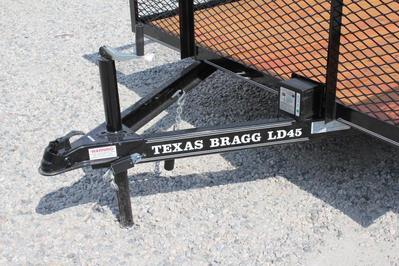 2018 Texas Bragg 14LD w/ 2ft Expanded Sides & Gate