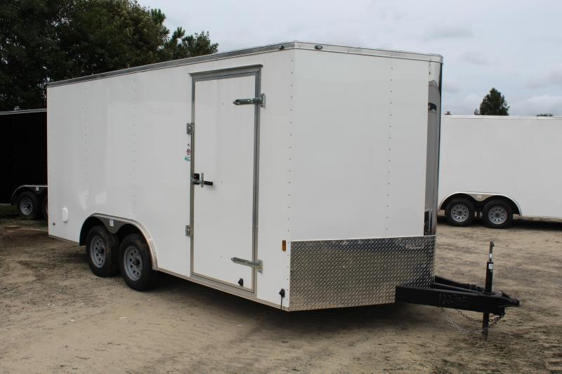 2019 Continental Cargo 8.5X16 7K Enclosed Cargo Trailer in Hollister, NC