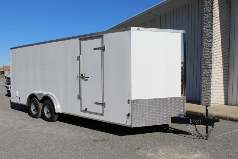 2019 Continental Cargo 8X20 10K Enclosed Trailer in Hollister, NC