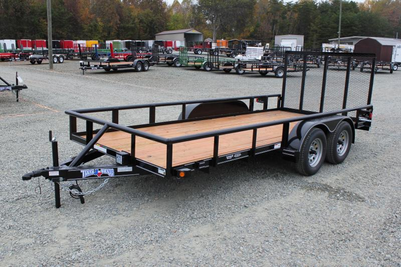 2019 Texas Bragg Trailers 16P w/ Gate in Ashburn, VA