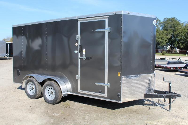 2020 Continental Cargo 7x14 w/ Ramp Door