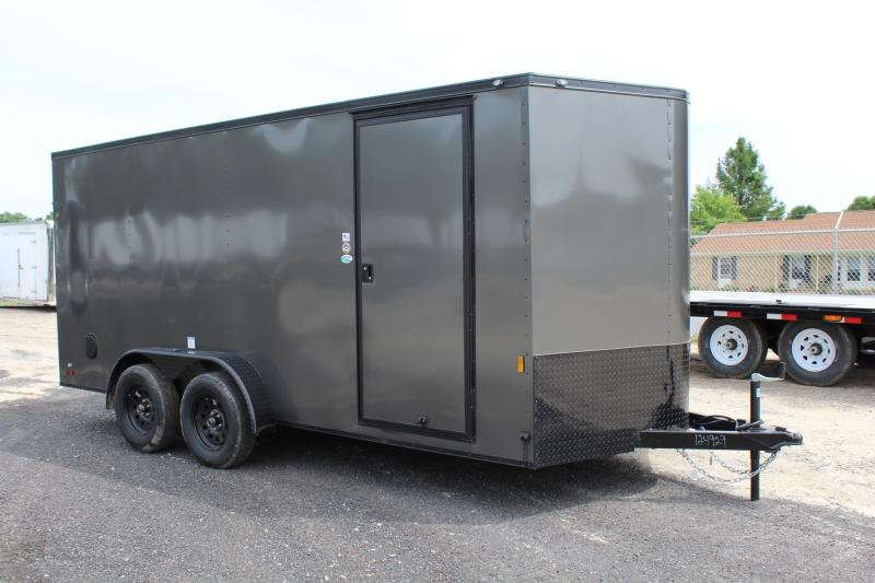 2020 Continental Cargo 7X16 w/ Ramp Door in Roper, NC