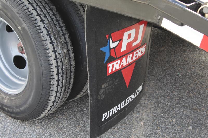 2019 PJ 30ft FD Gooseneck w/ Monster Ramps