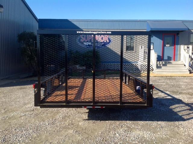 2018 Texas Bragg 6X12P w/ Gate