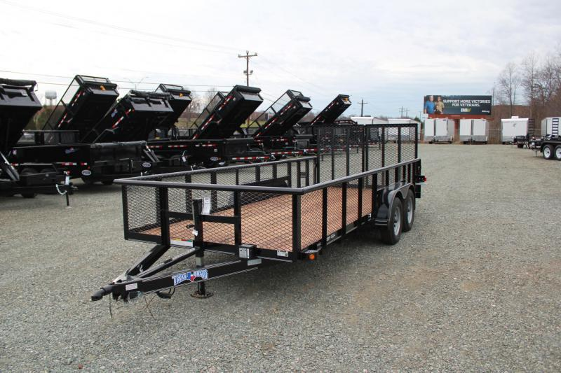 2019 Texas Bragg 18P 2ft Expanded Sides w/ Split Gate