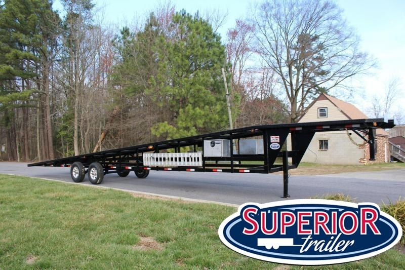 2018 Take 3 48' Ultra Lite Gooseneck 3 Car Trailer