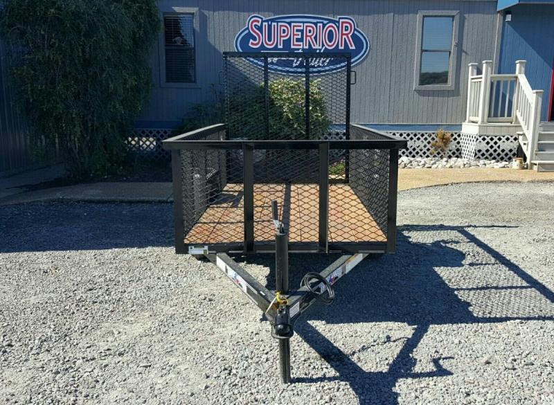 2018 Texas Bragg Trailers 4X8LB Utility Trailer w/Expanded Sides