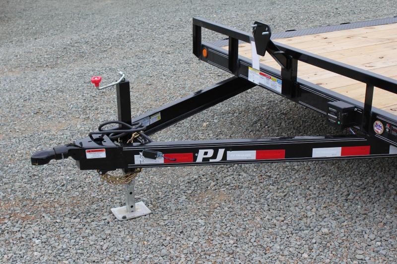2018 PJ 20ft B5 10K w/ Rear Slide in Ramps
