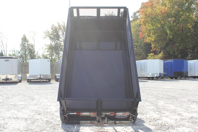 2019 PJ Trailers 5X10 D5 7K Dump w/ Extended Sides