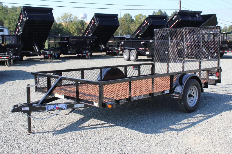 2018 Texas Bragg 6X12ST w/ Expanded Side & Gate