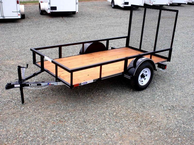 2018 Texas Bragg Trailers 5X10LD w/ Tailgate