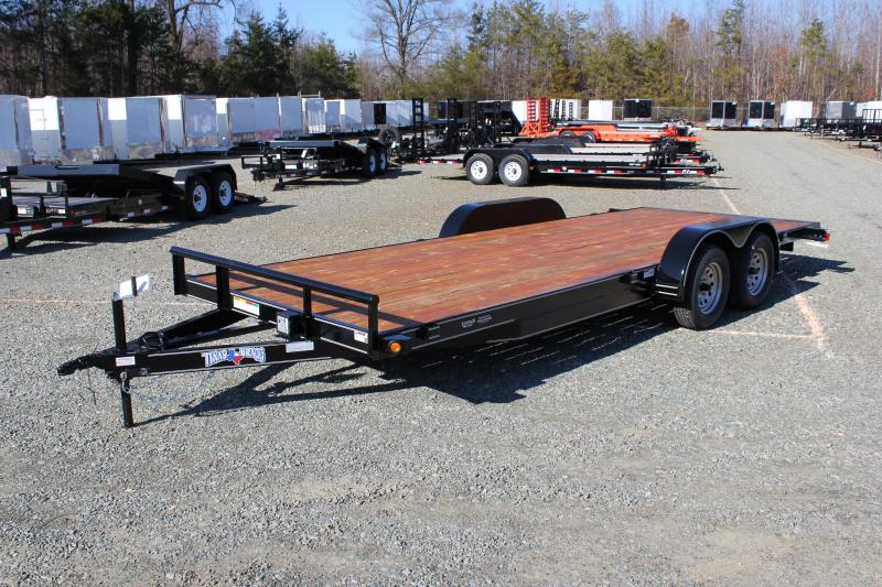2018 Texas Bragg 20 HCH Car Trailer w/ Ramps
