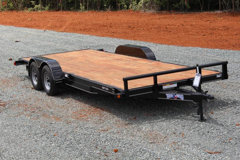 2019 Texas Bragg 20 HCH Car Trailer w/ Ramps in Ashburn, VA
