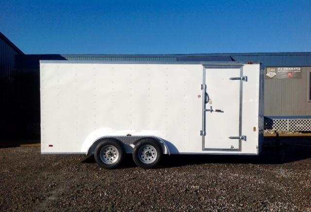 2020 Continental Cargo 7X16 w/ Ramp Door in Hollister, NC