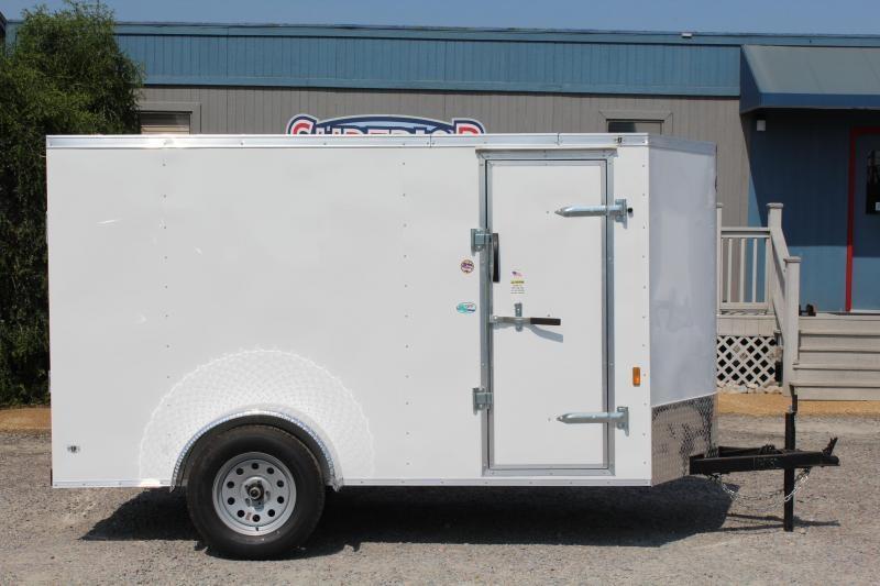 2020 Continental Cargo 5X10 w/ Ramp Door