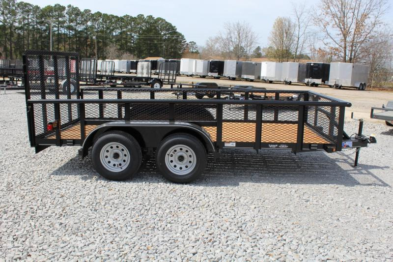 2018 Texas Bragg Trailers 14P Utility Trailer w/2' Expanded Metal Sides