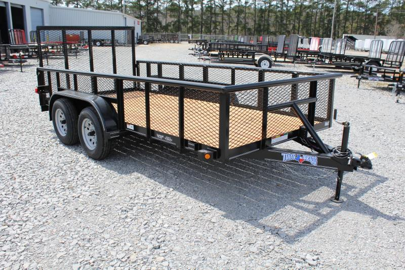 2018 Texas Bragg 14P W/ Gate & 2ft Expanded Sides