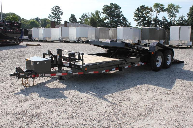 Tilt Container Trailers For Sale In Tx Nationwide Trailers >> 2019 Pj Trailers 22 Tj 16k Tilt Superior Trailers Nc And Va