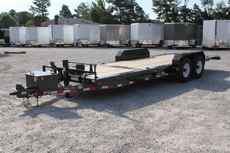 2019 PJ Trailers 22ft TJ 16K Tilt