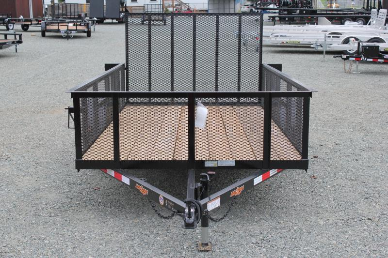 2019 Down 2 Earth 6x12 w/ 2ft Expanded Sides and Gate