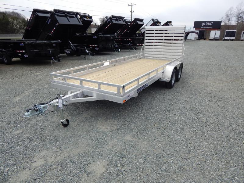 2020 Aluma 7818 ESW 7K w/ Rail Kit and Tailgate