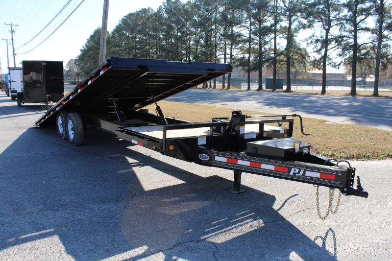 2019 PJ Trailers 26ft T8 14K Tilt Equipment Trailer