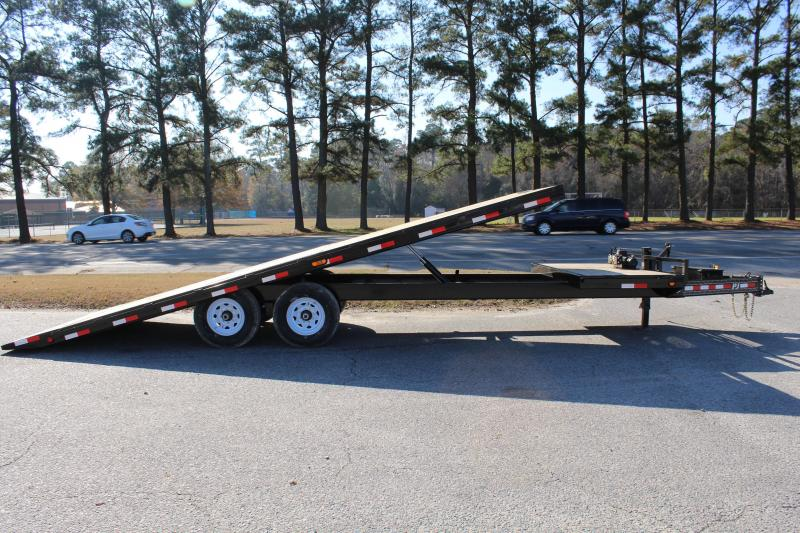 2019 PJ Trailers 26' T8 14K Tilt Equipment Trailer