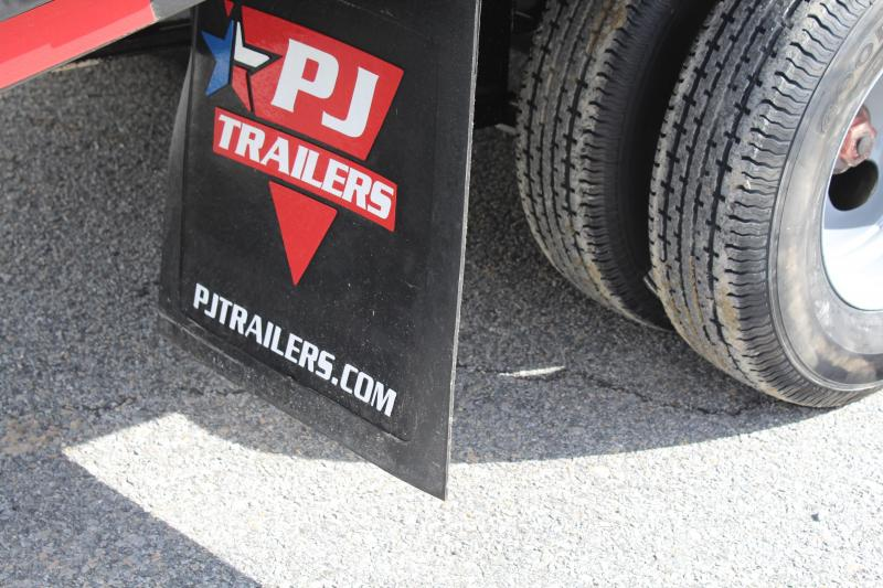 2019 PJ Trailers 32ft FD Gooseneck  w/ Flip Over Ramps