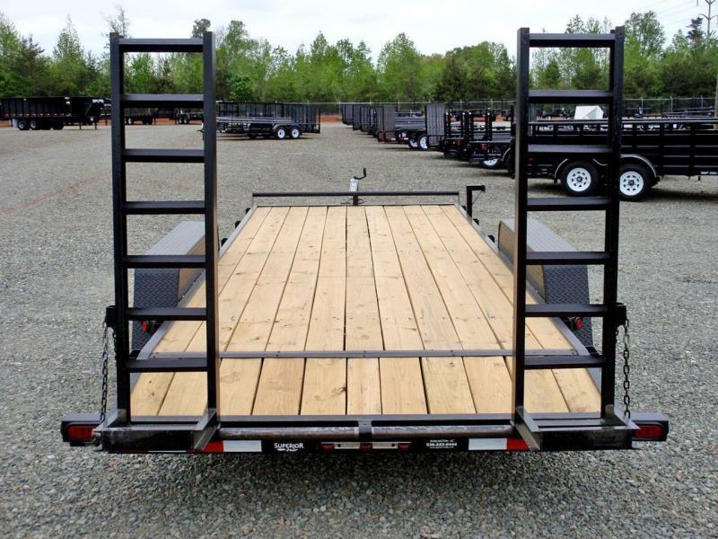 2018 Down 2 Earth 18ft 12K w/Fold Up Ramps