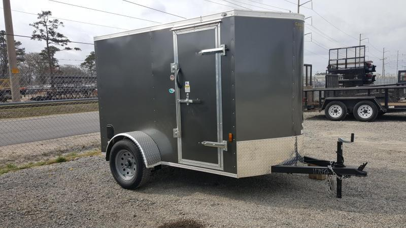 2018 Continental Cargo 5X8 w/Ramp Door
