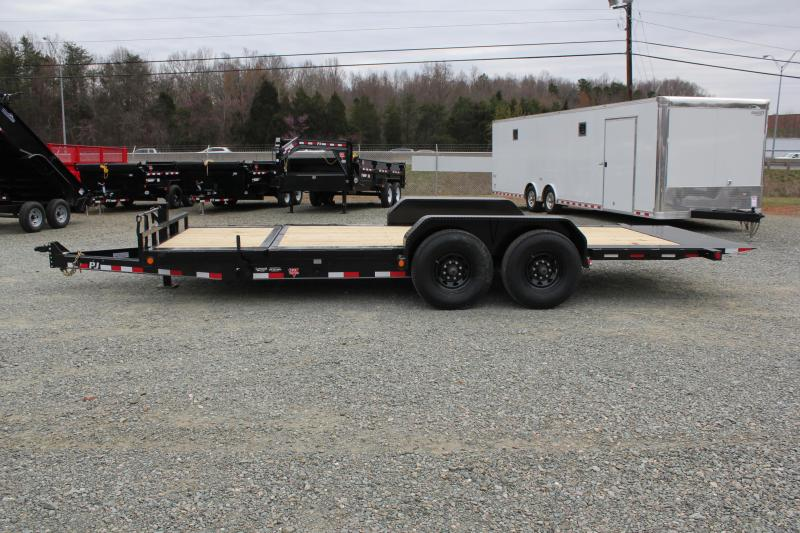2017 PJ Trailers 20ft TJ 16K Tilt
