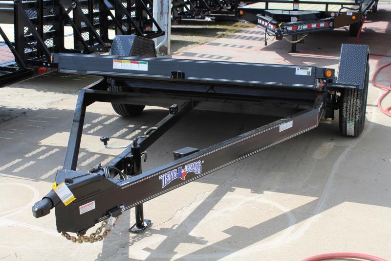 2019 Texas Bragg Trailers 6X12HET 7K Heavy Tilt Equipment Trailer