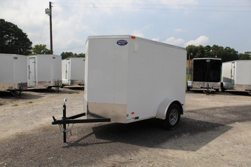 "2020 Bravo Hero 5x8 w/ Extra Height 24"" Side Door and Ramp Door"