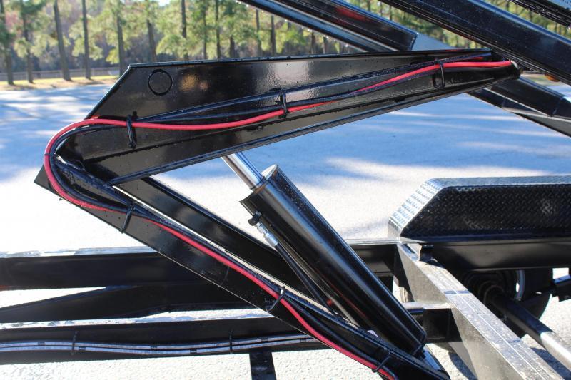 2020 PJ Trailers 7X14 DR 14K Roll Off Dumpster Trailer