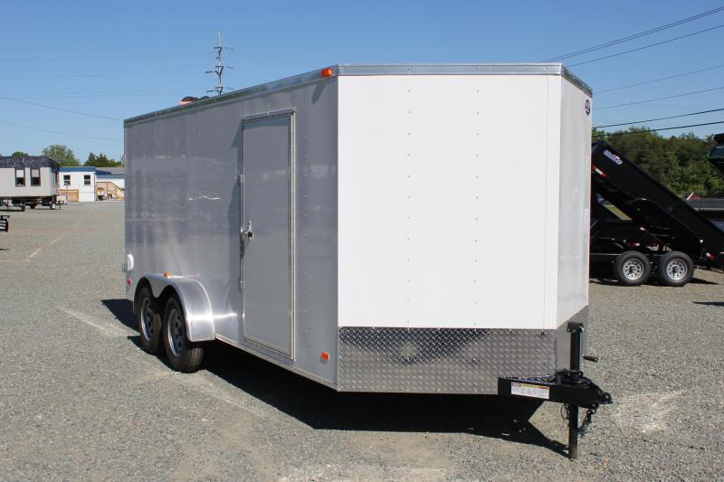 2019 Bravo Hero 7x16 w/ Double Rear Door in Pope Army Airfield, NC