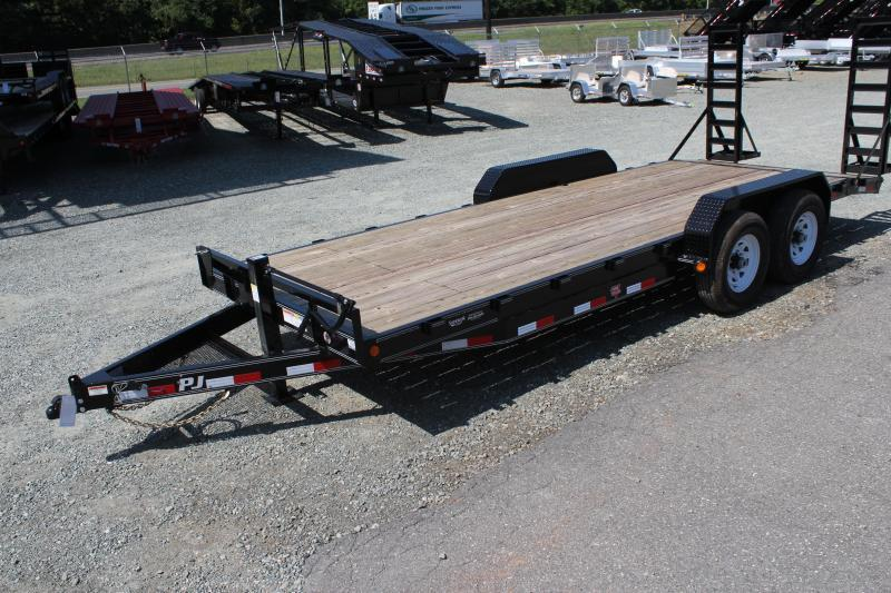 2020 PJ Trailers 20' CC 14K w/ Fold Up Ramps in Ashburn, VA